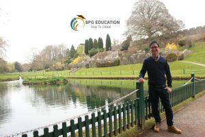 – Chia sẻ kinh nghiệm về thời gian đầu làm quen với cuộc sống và môi trường mới ở UK?
