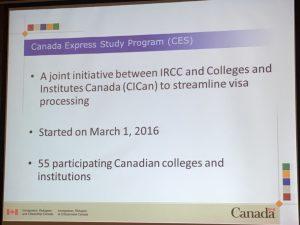 Danh sách 55 trường diện CES tại Canada