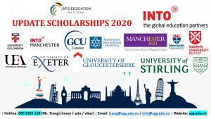 [UPDATE SCHOLARSHIP 2020] 14 trường UK với mức học bổng lên đến 100%
