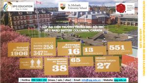 St. Michaels University School – trường nội trú truyền thống top 8 tại Canada.