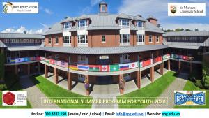 Chương trình hè ISPY 2020 tại SMUS – Canada