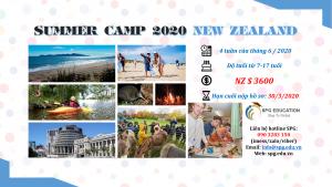 Trại hè NEW ZEALAND 4 tuần 2020